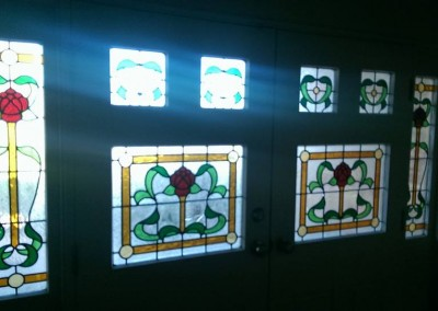 Before Glass Panel Upgrade