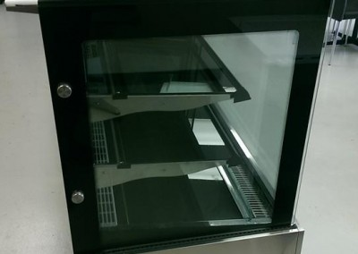 Glass Refrigerated Stand Panel