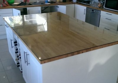 Glass Bench Top